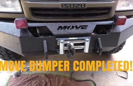 MOVE BUMPER 5 / Smittybilt winch install and mounting the bumper Locally At 62997 Willisville IL