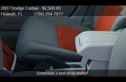 Dodge Caliber Sxt 2007 Near Lubbock 79491 TX USA