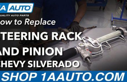How to Replace Steering Rack & Pinion Assembly 07-13 Chevy Silverado Savannah Georgia 2018