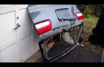 How to install a Liftgate back Door Toyota Sienna(removal/install) Local Morris Run 16939 PA