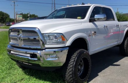 LIFTED 2013 DODGE RAM 2500 LARAMIE LONGHORN FOR SALE AT DLUX MOTORSPORTS VIRGINIA Local 79096 Wheeler TX