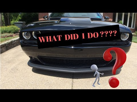 2018 Challenger Scat Pack Grill Blackout 2019