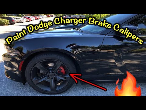 Paint Dodge Charger Brake Calipers 2019
