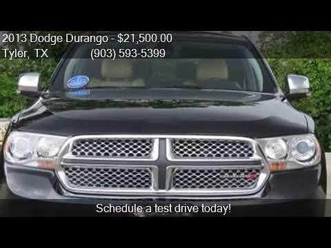 Dodge Durango Suv 2013