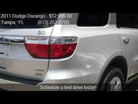 Dodge Durango Suv 2011