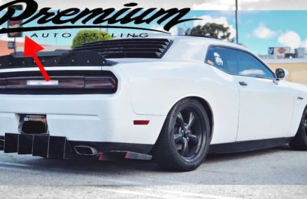 PremiumAutoStyling Tints My Challenger Tail Lights From Long Beach 90807 CA