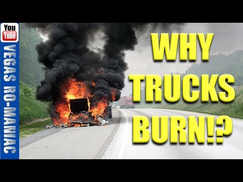 Why Trucks Catch Fire when towing trailers - Ford Chevy Dodge Truck VS Toyota Yaris Dodge Ram U Bolts