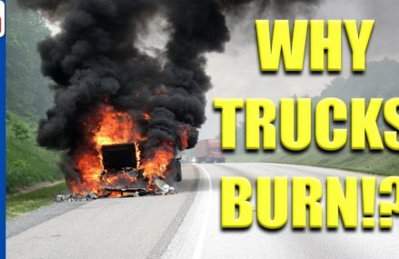 Why Trucks Catch Fire when towing trailers – Ford Chevy Dodge Truck VS Toyota Yaris From 4353 Whitefield ME