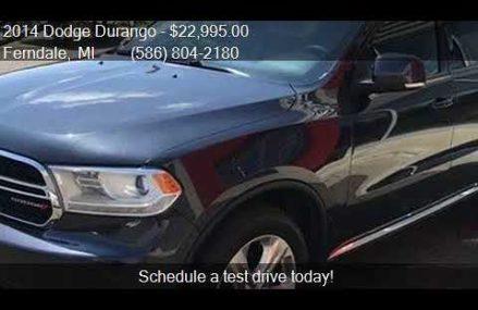 2014 Dodge Durango Limited AWD 4dr SUV for sale in Ferndale, Portland Oregon 2018