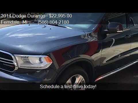 Dodge Durango Suv 2014