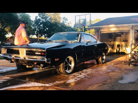 Night time driving my 1969 Dodge Charger (GoPro first person view) 2019