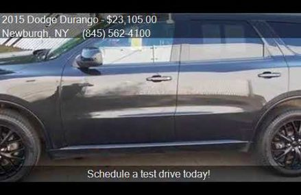2015 Dodge Durango SXT AWD 4dr SUV for sale in Newburgh, NY Seattle Washington 2018