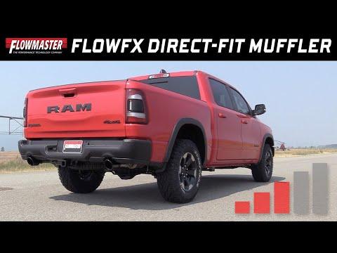 Flowmaster FlowFX Direct-fit Muffler for 2019 RAM 1500 with 5.7L Engine - Part #717847 Dodge Ram Aftermarket Parts