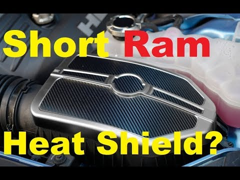 Cold Air Intake HEAT SHIELD - Dodge Charger / Challenger 2021