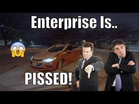 Durango SRT Launches In SNOW!! Enterprise Is PISSED!! | *RENTAL CAR BURNOUTS!* 2021