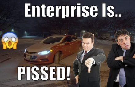 Durango SRT Launches In SNOW!! Enterprise Is PISSED!! | *RENTAL CAR BURNOUTS!* Local Area 14810 Bath NY