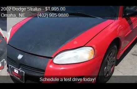 2002 Dodge Stratus Coupe – Norfolk 6058 CT