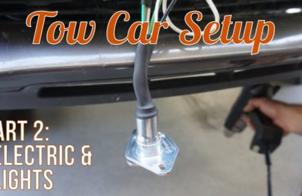 Setting Up our Tow Vehicle [2014 Dodge Durango R/T] – Part Two: Electric and Lights Stockton California 2018