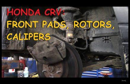 Honda CRV – Front Brake Pads, Rotors & Calipers Part IV Near Mecca 92254 CA