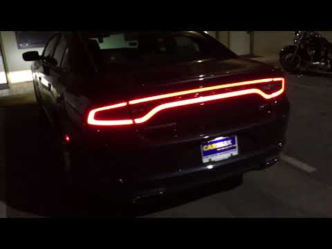 2018 Dodge Charger SXT at night 2019