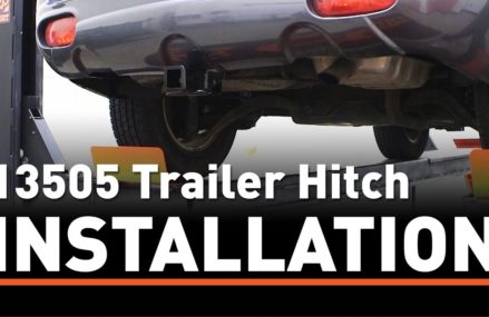 Trailer Hitch Install: CURT 13505 on a Hyundai Santa Fe Near Montgomery 36117 AL