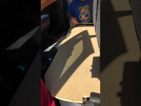 Building a speaker box for a 2003 Dodge Ram 2500 4x4 Dodge Ram Quad Cab Sub Box