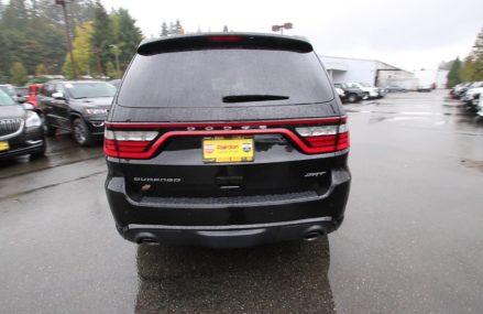 2018 Dodge Durango SRT | Black Clearcoat | JC497867 | Redmond | Seattle Fort Lauderdale Florida 2018