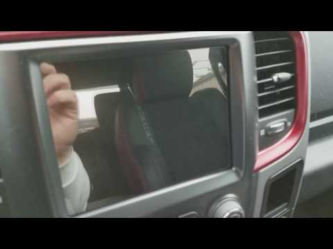LFOTPP Uconnect glass car navigation screen protector install Dodge Ram Navigation