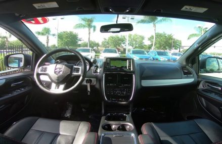 2017 Dodge Grand Caravan GT Interior at Morris 47033 IN