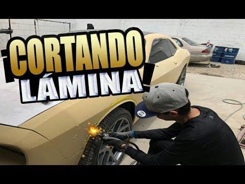 Cortando Lámina! Install Wide Body Kit Cantoneras Dodge Challenger 2019