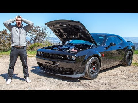 The $85,000 Dodge Demon Is So Fast It Should Be ILLEGAL 2019