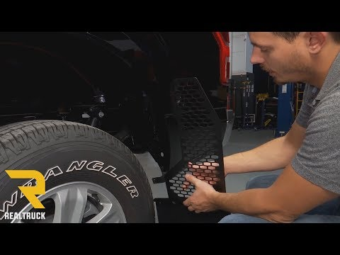 How to Install REK-GEN Off-Road Mud Flaps Dodge Ram Mud Flaps