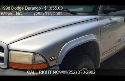 1998 Dodge Durango SLT 4dr 4WD SUV for sale in Wilson, NC 27 Newport News Virginia 2018