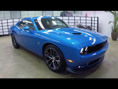 2015 Dodge Challenger RT Scat Pack | Blue | Leather | HEMI 392 | 17842 2021