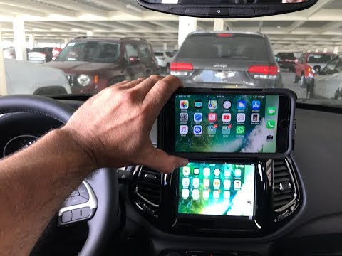 2018-2020 Jeep Compass CarPlay Android Auto MirrorLink Uconnect LockPick Air HD V2 2021