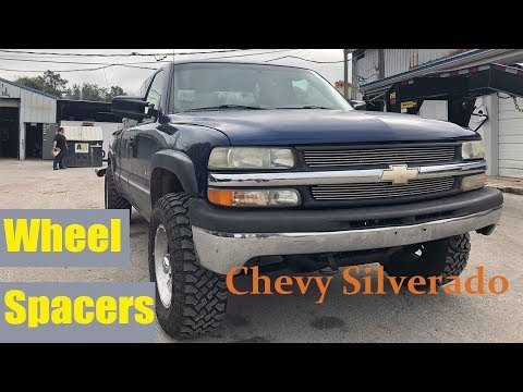 How to Install Wheel Spacers on a Chevy Silverado ▎Yitamotor Dodge Ram Wheel Spacers