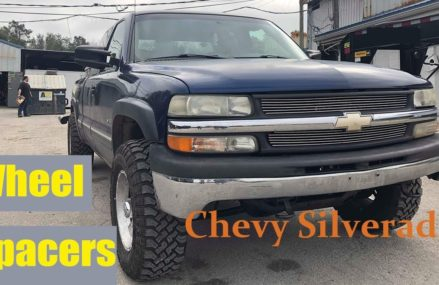How to Install Wheel Spacers on a Chevy Silverado ▎Yitamotor Area Near 71772 Whelen Springs AR
