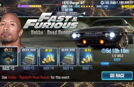 Csr Racing 2 Dom´s 1970 Dodge Charger R:T Fast Furious Fully Upgraded in 30376 Atlanta GA