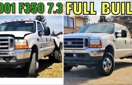 2001 Ford F350 7.3 Project – FULL BUILD – Start to Finish San Jose California 2018