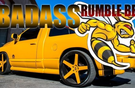 RUMBLE BEE DORADA | RE-UPLOAD| UNA DE LAS MEJORES QUE EH VISTO | RAMBOX DESIGN at 72957 Van Buren AR