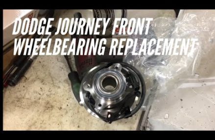 Dodge journey front wheel bearing replacement how to Newport News Virginia 2018