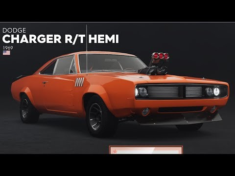 The Crew 2 - Dodge Charger R/T HEMi 1969 - Customize | Tuning Car (PC HD) [1080p60FPS] 2021