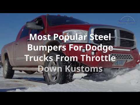 The Best Steel Bumpers for Your Dodge/Ram Truck Dodge Ram Bumper