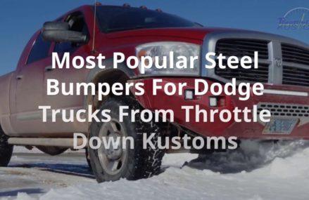 The Best Steel Bumpers for Your Dodge/Ram Truck Local 44484 Warren OH