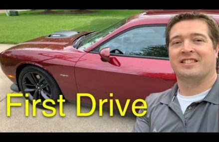 2019 Dodge Challenger RT Shaker 6 Speed Manual – First Drive After Taking Delivery at Louisville 80028 CO