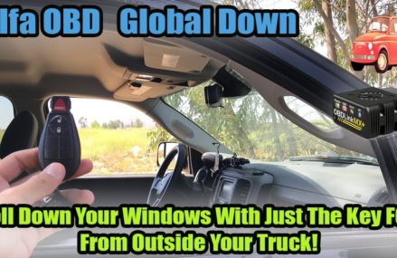 AlfaOBD How To Roll Down Your Windows From The Key Fob: Global Down Local 17701 Williamsport PA