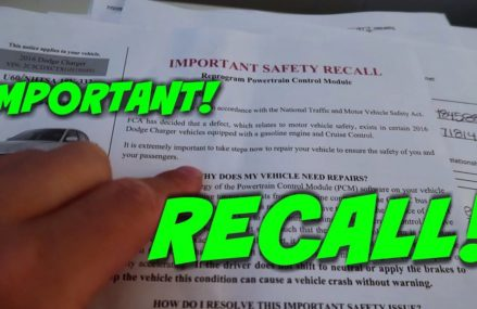 Dodge Charger FCA Safety Recall 4.8 MILLION CARS (Important!) From 48111 Belleville MI