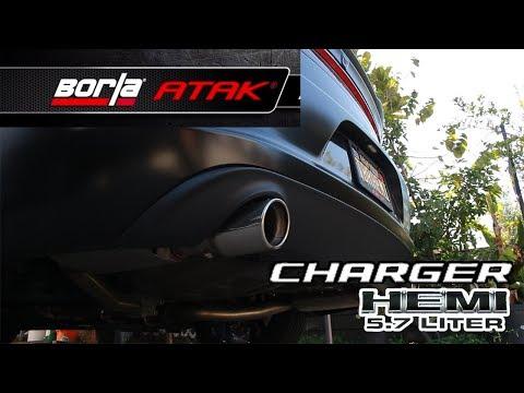 Dodge Charger RT - Borla ATAK Exhaust - Cold Start 2019