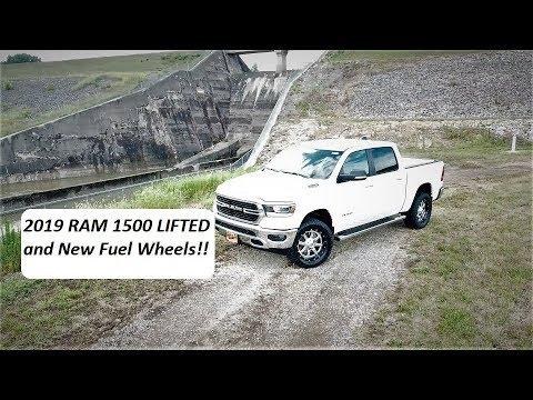 Lifted 2019 RAM 1500 plus New Fuel Wheels!! Dodge Ram Lifted