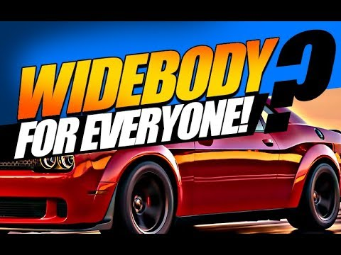 Widebody Challenger 392, RT & V6? Demon OEM Kit... 2021